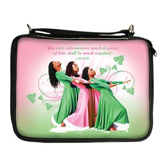 Picture of BO133 Three Ladies (Pink and Green) Bible Organizer