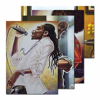 Picture of JAZZ NOTE CARD ASSORTMENT 2