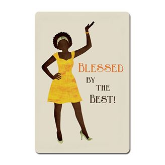 Picture of Blessed By The Best Magnet