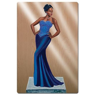 Picture of Diva Blue Magnet