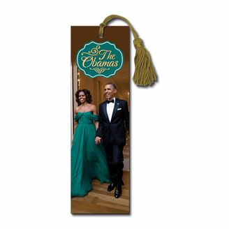 Picture of BM122 The Obamas 2015 Bookmark