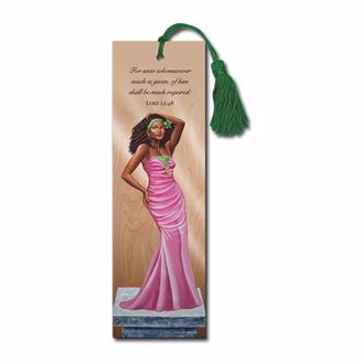 Picture of BM125 Pink Diva Bookmark
