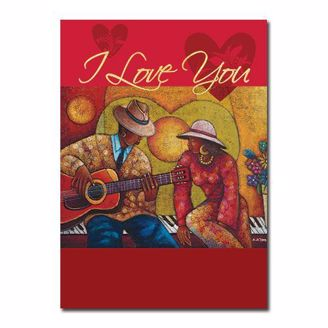 Picture of I Love You Romance Card