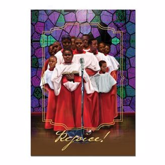African American Rejoice Greeting Card