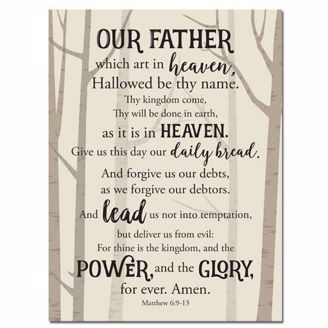 Picture of CHWP34 Lords Prayer Wall Plaque