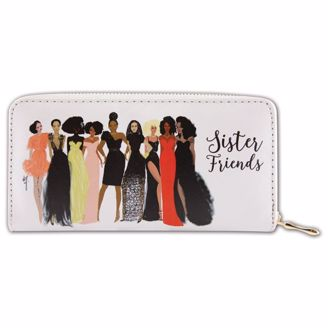 Picture of WL04 Sister Friends Wallet
