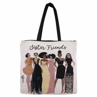 Picture of WTB13 Sister Friends Totebag