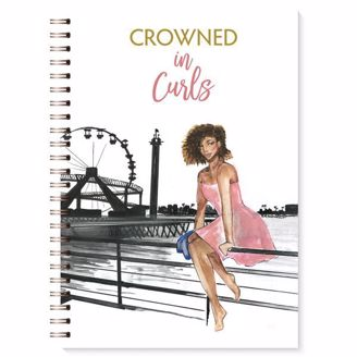 Picture of J197 Crowned in Curls Wired Journal