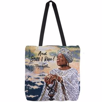Picture of WTB14 And Still I Rise Maya Woven Totebag