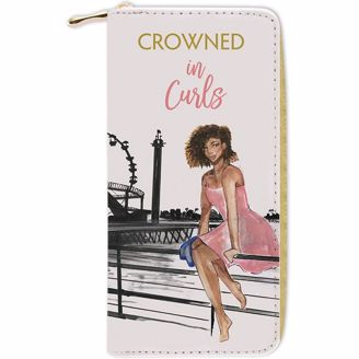 Picture of WL09 Crowned in Curls Wallet