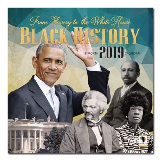 Picture of WC177 Black History 2019 Wall Calendar