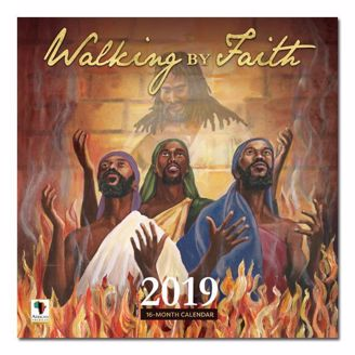 Picture of WC178 Walking By Faith 2019 Wall Calendar