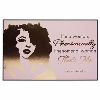 Picture of CHWP36 Phenomenal Woman Wall Plaque