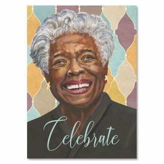 Picture of AOLJB137 Celebrate - Maya Angelou