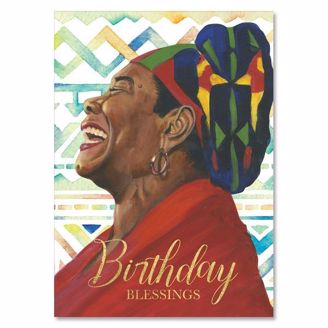 Picture of AOLJB141 Birthday Blessings - Maya Angelou