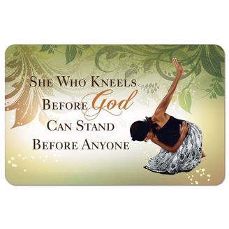 Picture of SM09 She Who Kneels Floor Mat