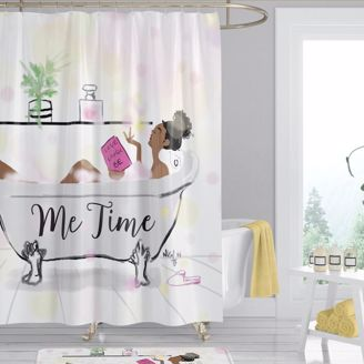 Picture of SC04 Me Time Shower Curtain