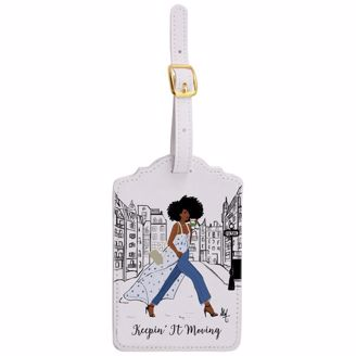 Picture of LT02 Keepin It Moving Luggage Tag Set