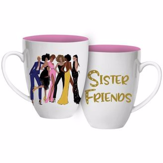 Cute Pink Sister Friends Coffee Mug