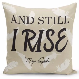 Picture of PC06 Still I Rise (Maya Angelou) Pillow Cover