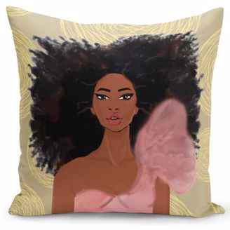 Picture of PC08 Strong Girl Pillow Cover