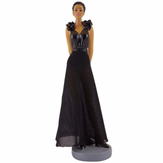 Chic Sister Friends Collection Black Figurines