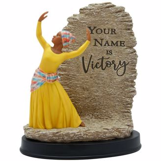 Your Name is Victory Praise Dancer Black Figurine