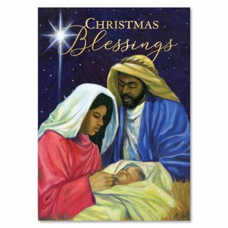 Picture of C963 Christmas Blessings Nativity
