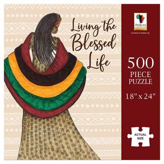 Picture of PUZ19 Blessed Life Puzzle