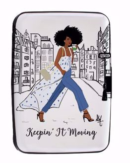 Keepin It Moving Sister Friends Card Holder CHC06