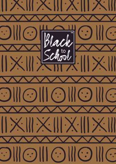 Mudcloth Pattern African Print Small Notebook Set of 3 NBS03