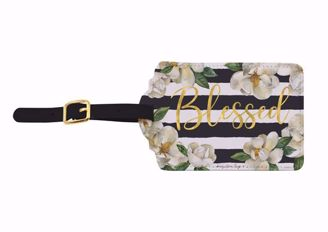 Blessed Magnolia Sandy Clough Luggage Tag Set of 2 LT07