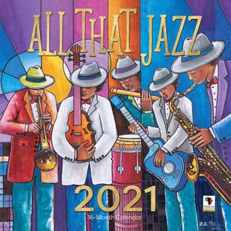 All That Jazz Black Art 2020 Collectible African American Calendar - Cover
